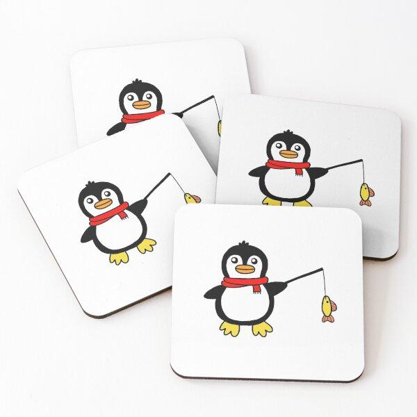 Cozy Penguin Coasters (Set of 4)
