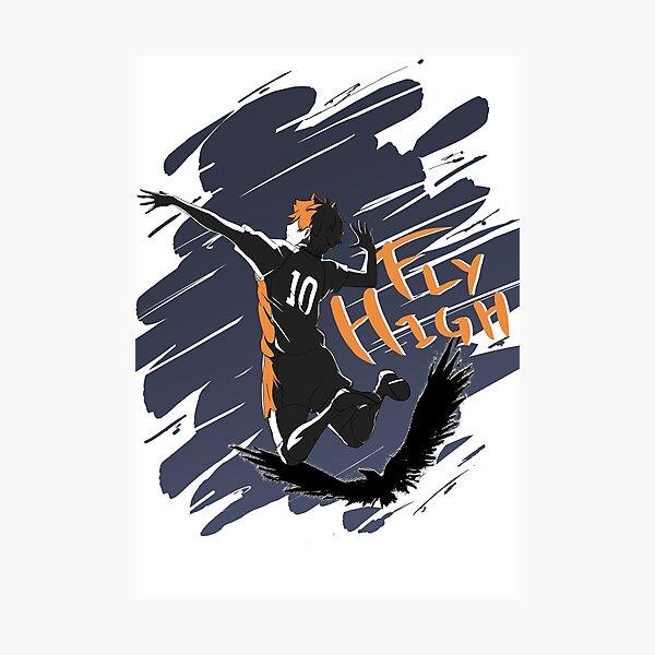 Haikyuu!! Fly High Tee Photographic Print