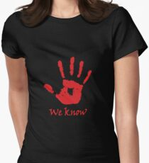We Know - Dark Brotherhood Women's Fitted T-Shirt