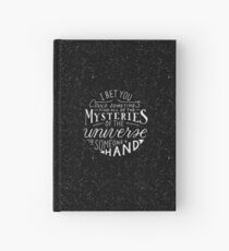 All of the Mysteries of the Universe Hardcover Journal