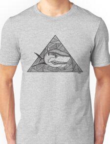Geometric Shark Unisex T-Shirt