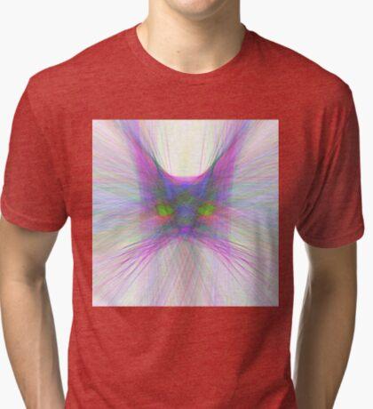 Sky Cat Tri-blend T-Shirt