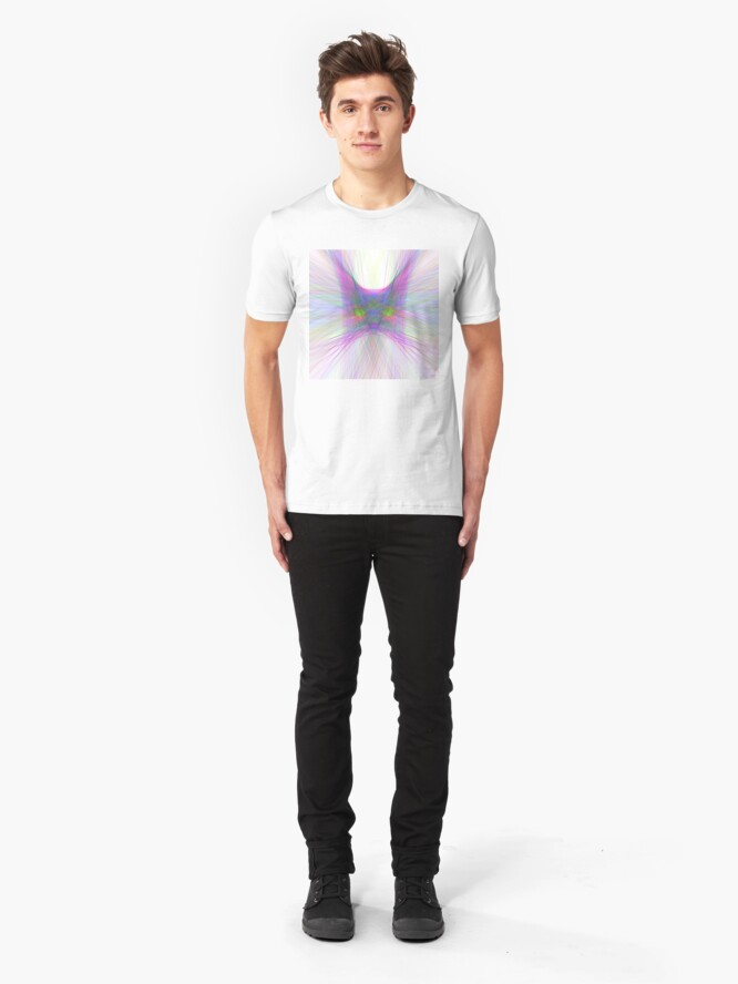 Alternate view of Sky Cat Slim Fit T-Shirt