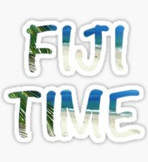 Fiji Time Sticker