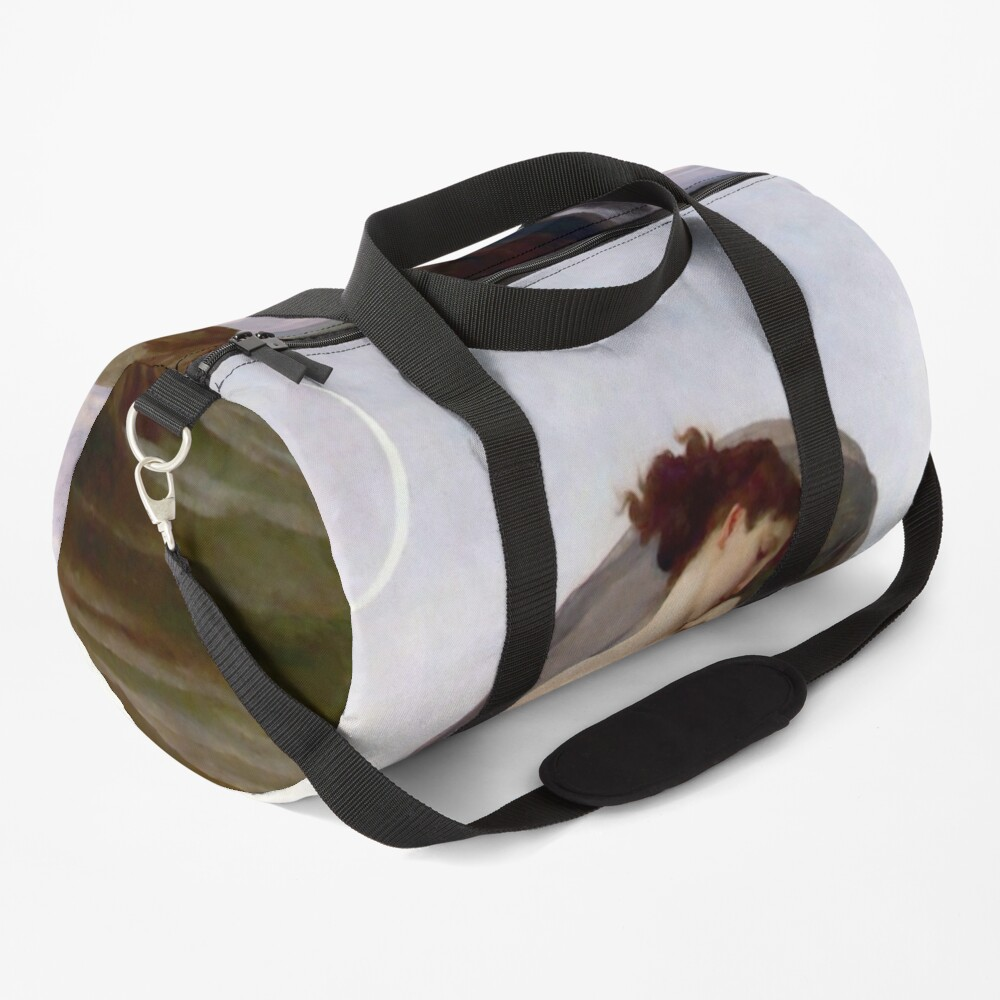 Evening Mood Painting, ur,duffle_bag_small_front,square