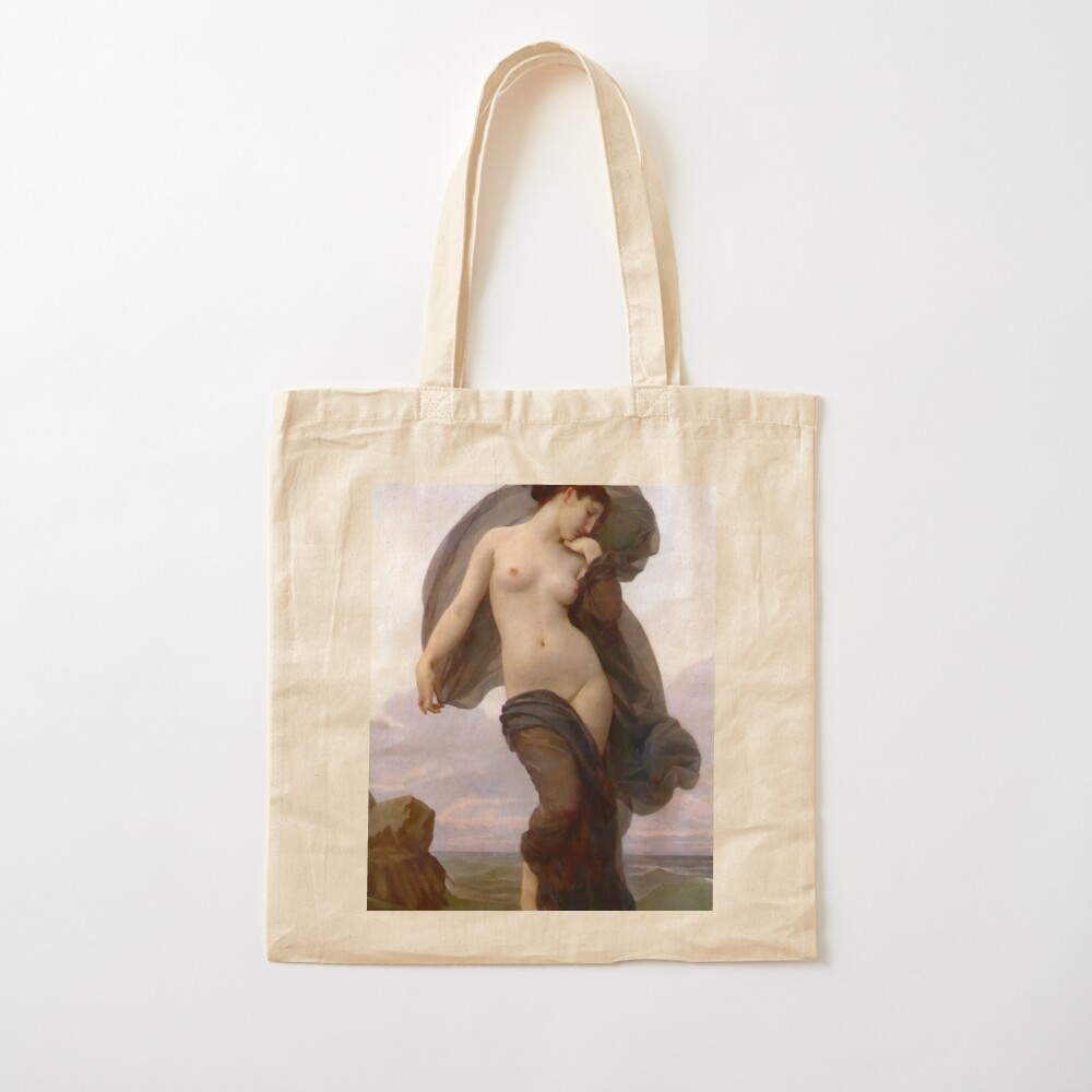Evening Mood Painting, ssrco,tote,cotton,canvas_creme,flatlay,square