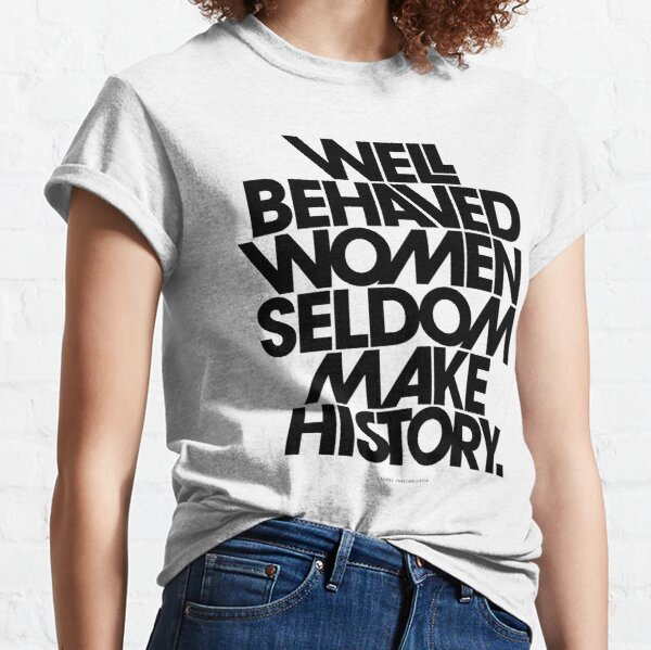 to black and pink quote Classic T-Shirt