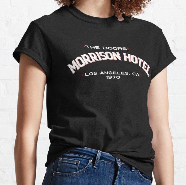 Hotel The Doors Merch Morrison Camiseta clásica