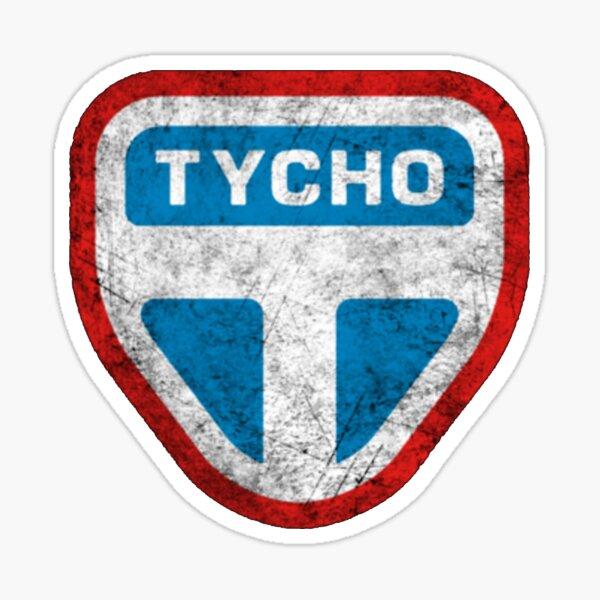 The Expanse Tycho Logo Dirty Sticker