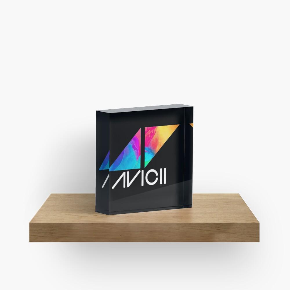 ◢◤Avicii Logo Acrylic Block