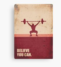 Believe you can - Business Quote Canvas Print