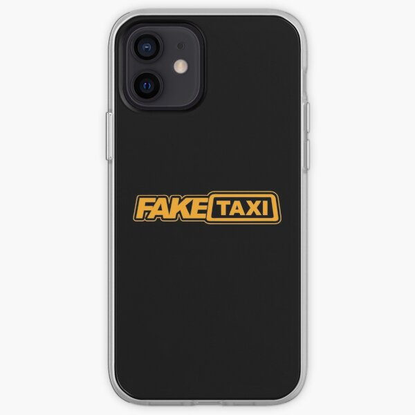 Faux logo de taxi Coque souple iPhone