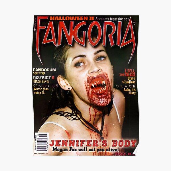 Jennifer's Body Megan Fox Magazine Cover Poster