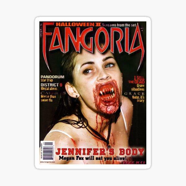 Jennifer's Body Megan Fox Magazine Cover Sticker