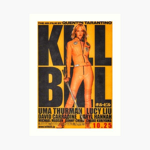 kill bill poster Art Print