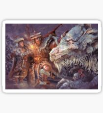 Meeting the Elder Dragon Sticker