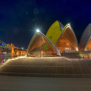 Opera House and Forecourt by eschlogl