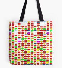 Colourful Flowchart Design Tote Bag