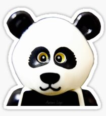 Cute Lego Panda Guy Sticker
