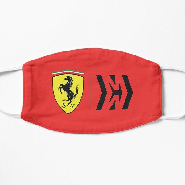 The ferrari F1 logo Flat Mask