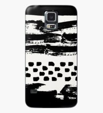 Brush Stroke Waves Case/Skin for Samsung Galaxy