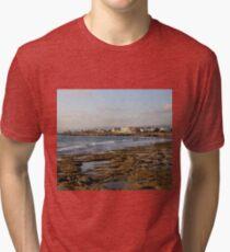 Paphos Beach, Cyprus Tri-blend T-Shirt