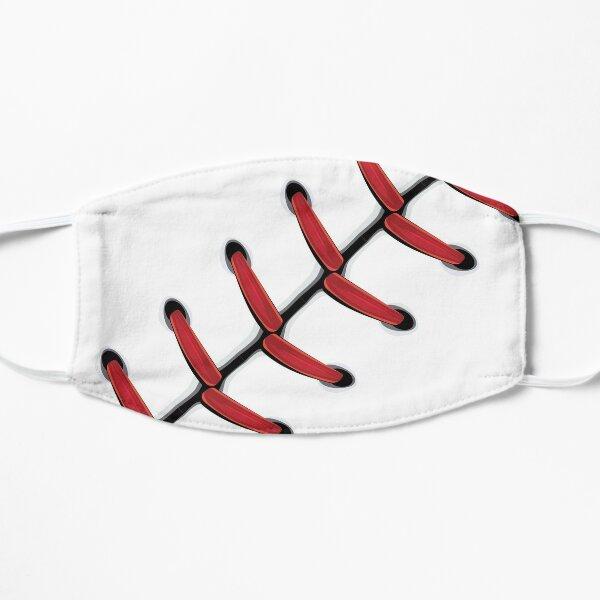 Baseball Lace Background 2 Flat Mask