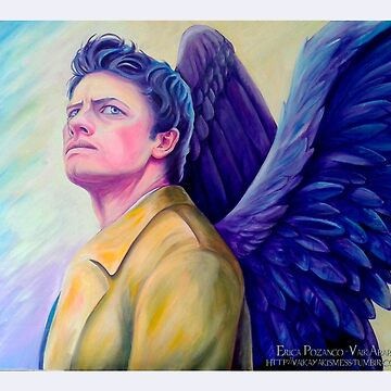 The man who would be king - Castiel by valkayaki