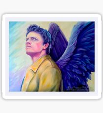The man who would be king - Castiel Sticker