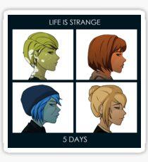 5 DAYS Sticker