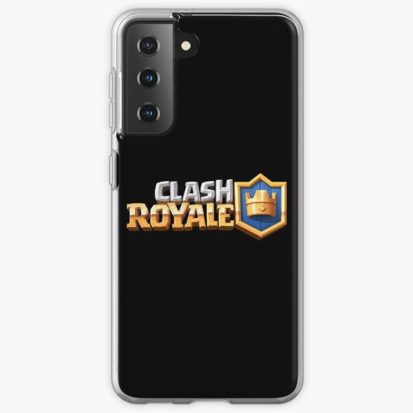 LOGOTIPO CLASH ROYALE Funda blanda para Samsung Galaxy