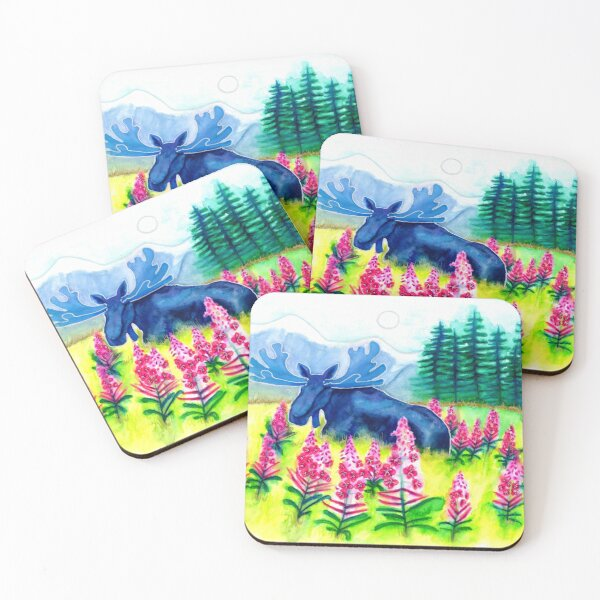 Fall blooming Coasters (Set of 4)