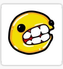 Pacman  goofball Sticker