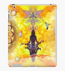 Yellow yoga  iPad Case/Skin