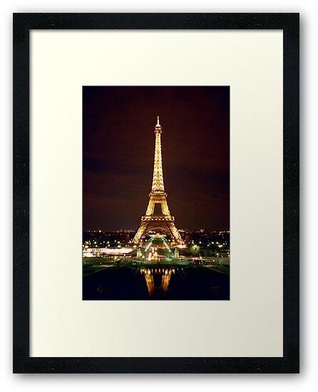 Eiffel Tower in Color by cinn