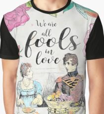 Pride and Prejudice - Fools in Love Graphic T-Shirt