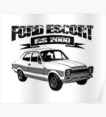 Ford Escort RS 2OOO Poster