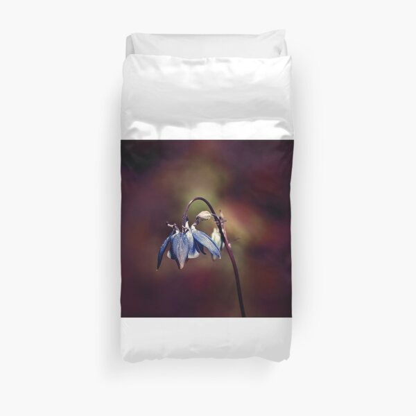 a kind of bluish Duvet Cover