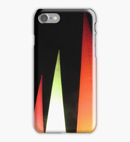 Coloured cones iPhone Case/Skin