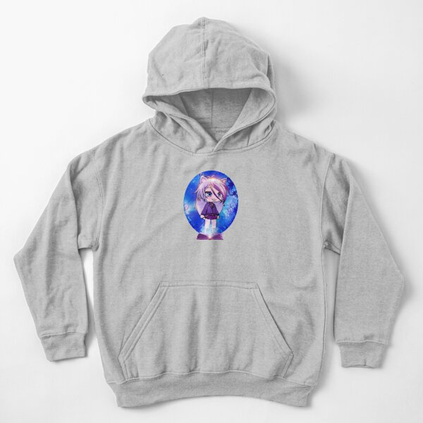 Gacha life in the magic forest Kids Pullover Hoodie