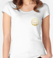 state champs Women's Fitted Scoop T-Shirt