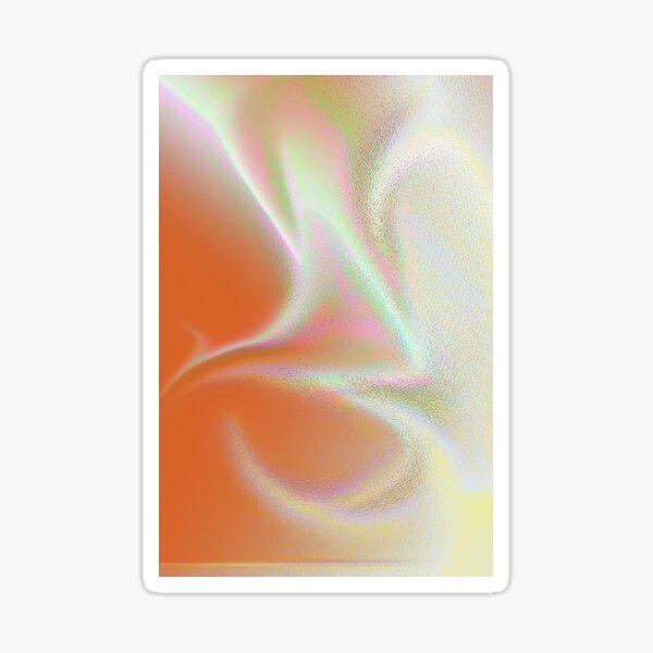 Pastel swirls Sticker