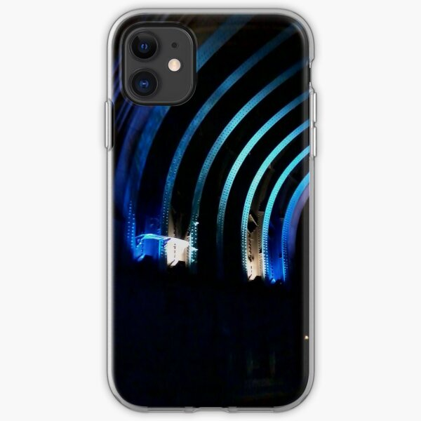 Streaks of blue iPhone Soft Case