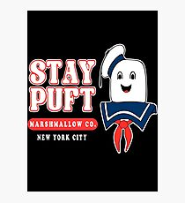 Stay Puft Marshmallow Photographic Print