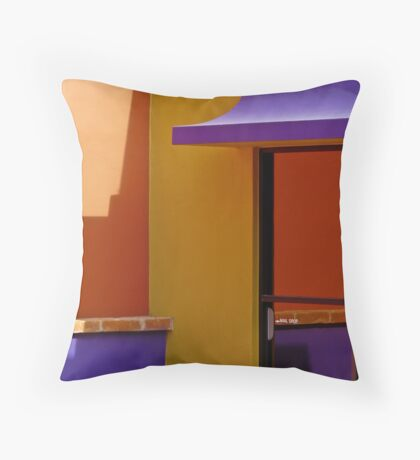 Mail Drop Throw Pillow