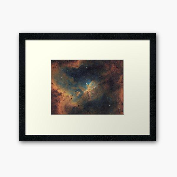 Melotte 15 - Hubble Palette Narrowband Framed Art Print