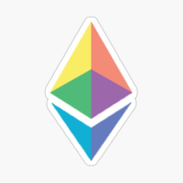 Cryptocurrency: Ethereum (ETH) Sticker
