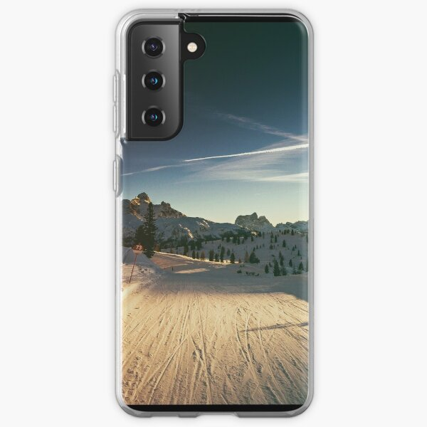 late on the ski slope Samsung Galaxy Soft Case