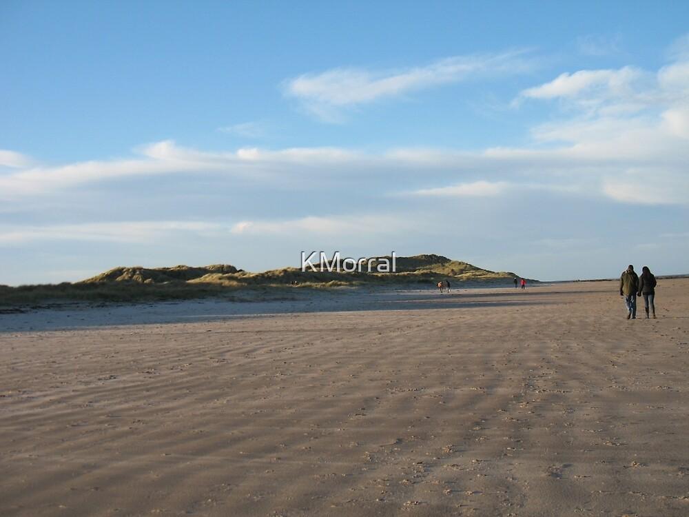 Beach walk by KMorral