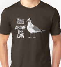 Steven Seagull über dem Gesetz - lustige T-Shirts Unisex T-Shirt